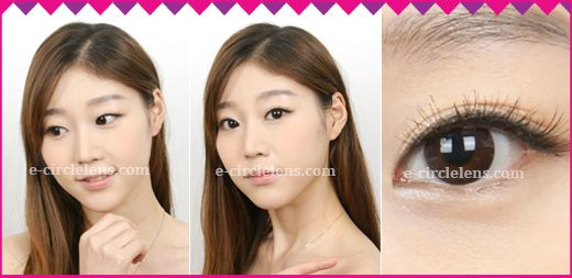 Eyevelyn Choco Contacts [Silicone Hydrogel] ★UV Block★ at e-circlelens.com